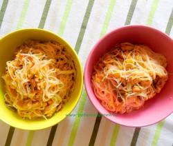 spaghetti shitake